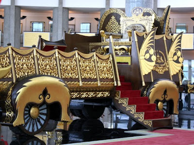 Royal Regalia Museum in Brunei on Borneo