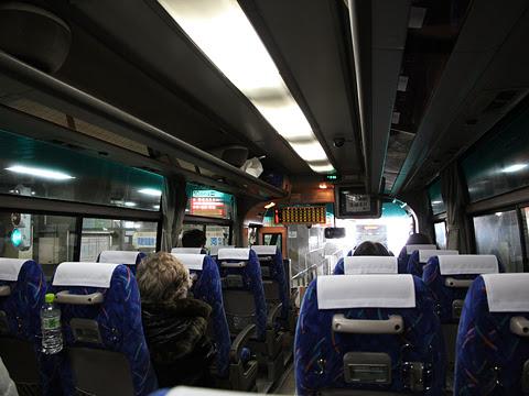 道南バス「高速ペガサス号」 345 車内