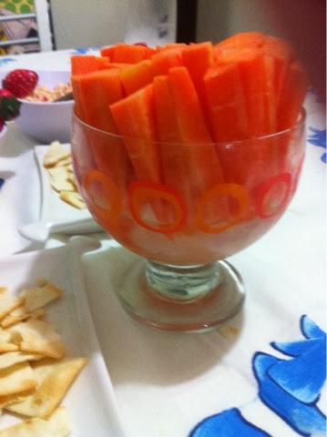 palitos de cenoura