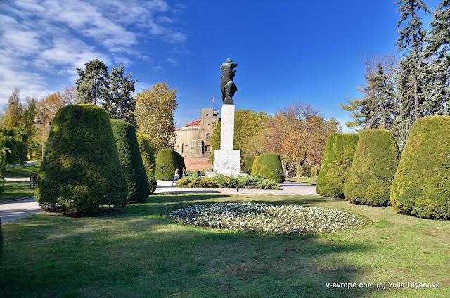 Парк в Калемегдане, Белград