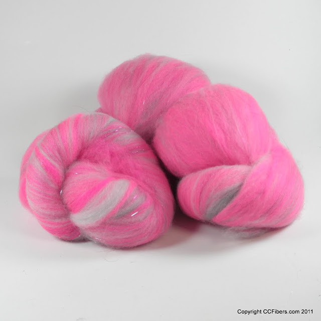 Luxury Spinning Batts, Hailey, 2.8 ounces
