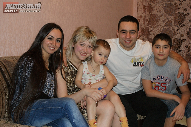Snezhana Babayeva, Rustam Babayev and his family