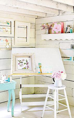 Freshhomeandgarden Colores Blanco Y Pasteles