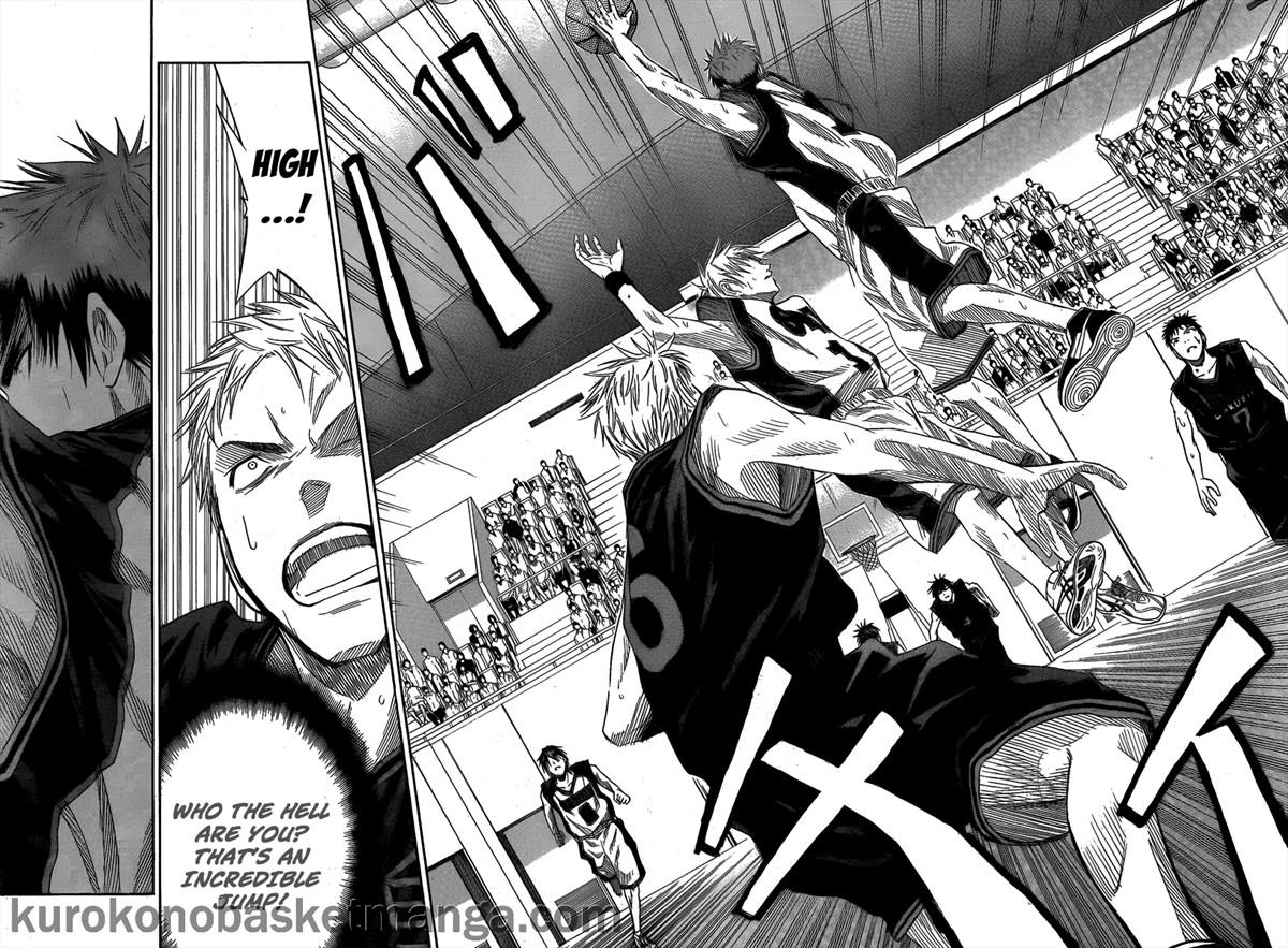 Kuroko no Basket Manga Chapter 43 - Image 14-15