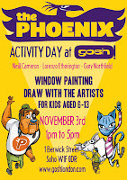 Gosh London Phoenix Activity Day