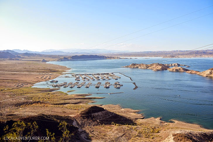 Lake Mead Drought in Nevada.