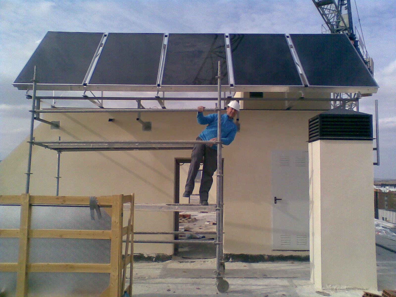 Javier Ponce Formación Técnica: Curso Energía Solar Térmica FLC 2011