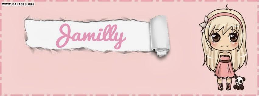 Capas para Facebook Jamilly