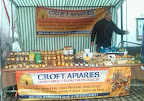honey market stall