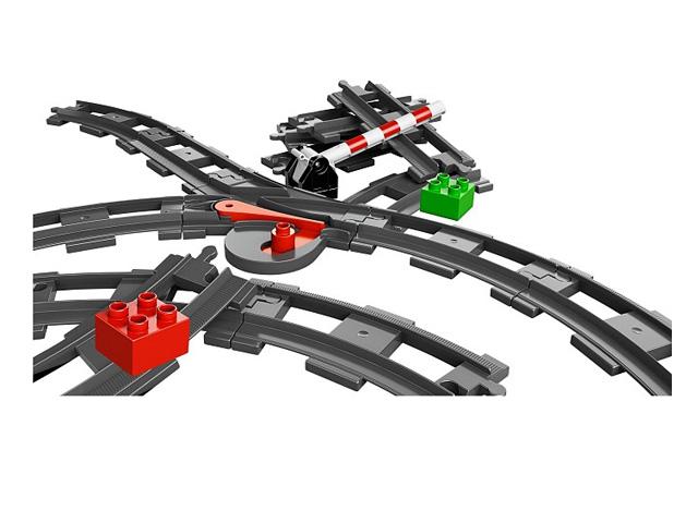 レゴ デュプロ トレインレールセット 10506