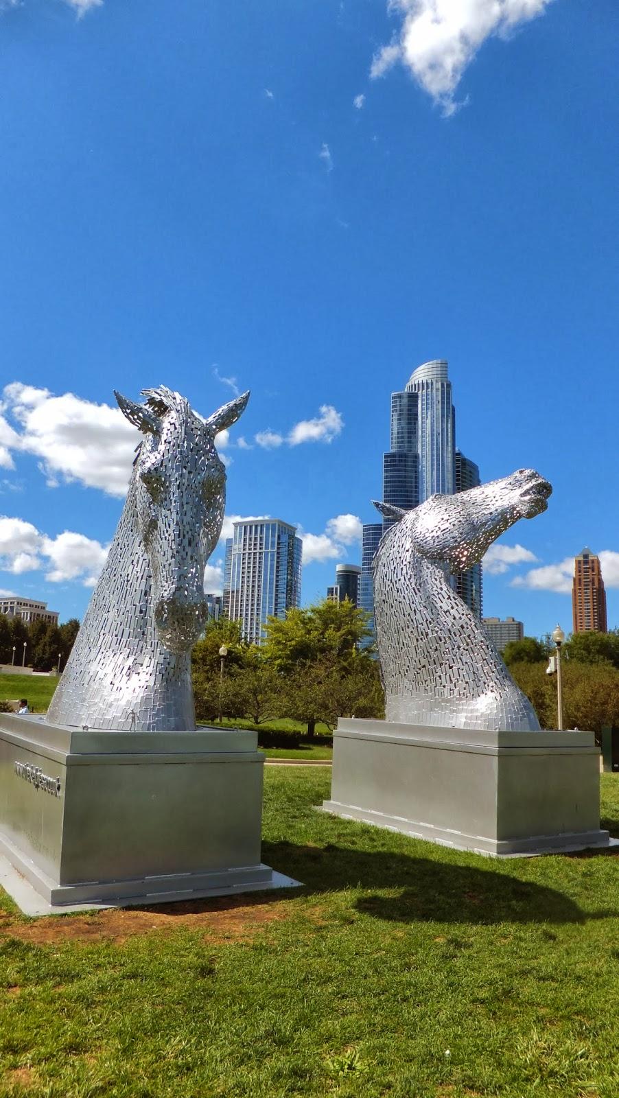 The Kelpies, Andy Scott, Grant Park, Chicago, Elisa N, Blog de Viajes, Lifestyle, Travel