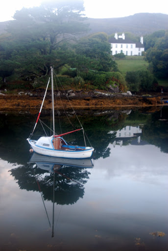 Ireland sailboat