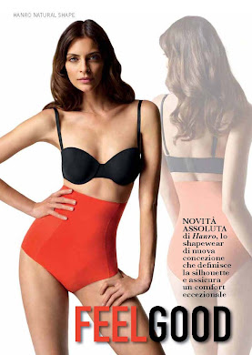 Hanro Natural Shape, advertorial primavera verano 2012
