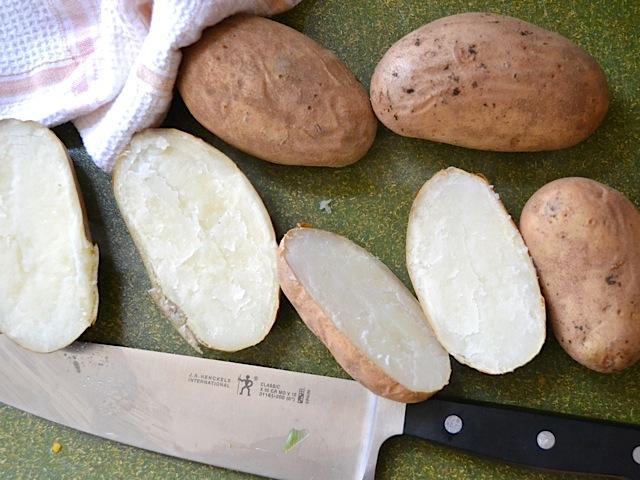 slice potoates