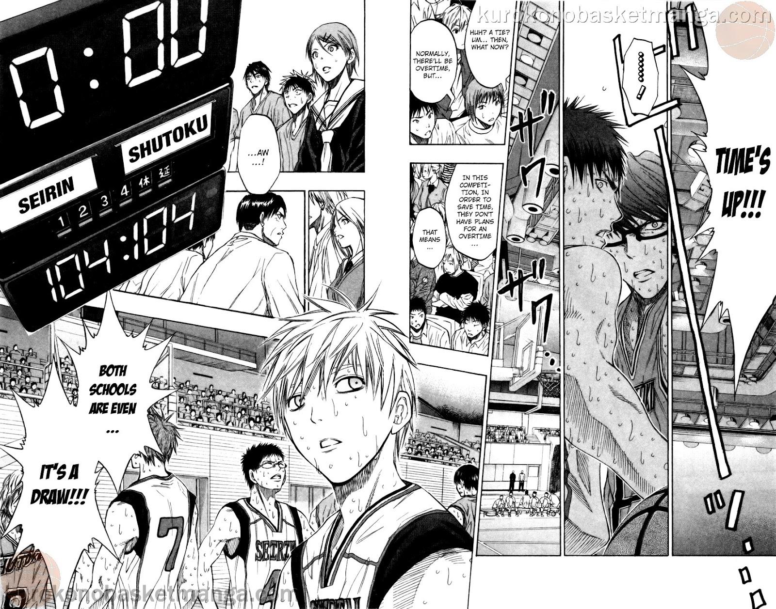 Kuroko no Basket Manga Chapter 92 - Image 18-19