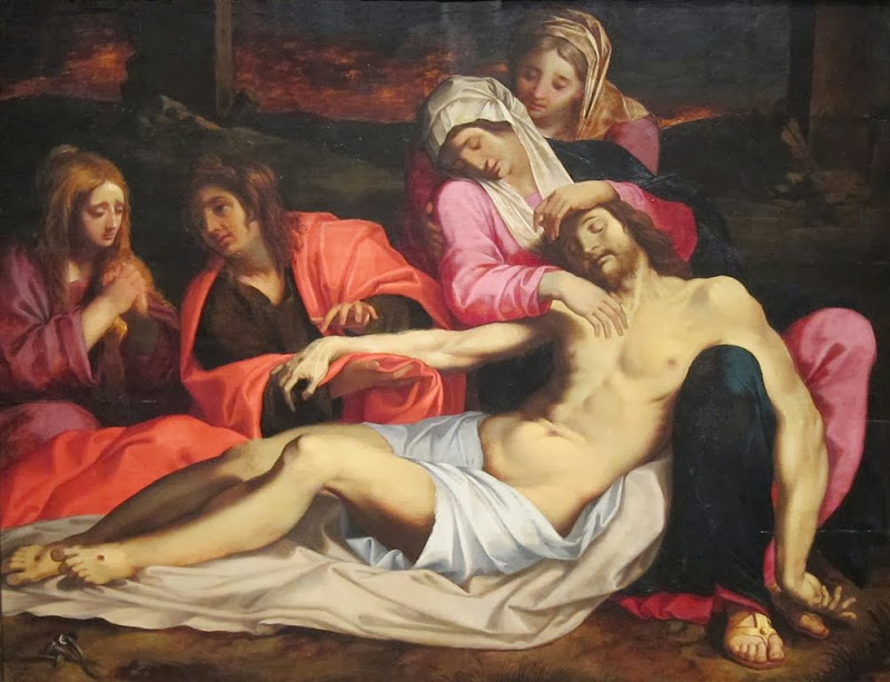 Abraham Janssens - The Lamentation of Christ, 1660-1604