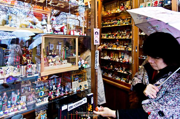 Souvenirs at Asakusa's Nakamise Shopping Street
