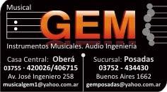 MUSICAL GEM - Posadas / Obera