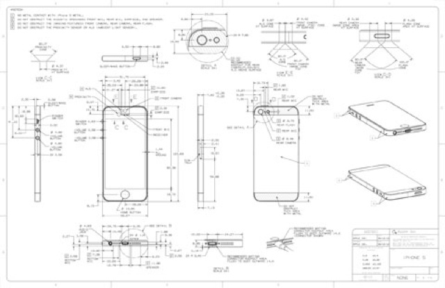 Diagramas Detallados Del Iphone 5 Y Ipod Touch