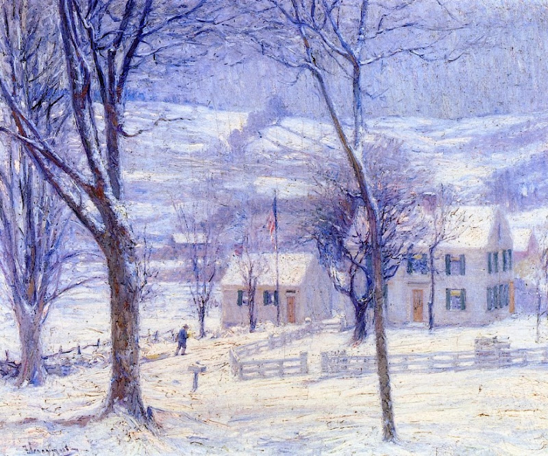 Robert Vonnoh - Late for School.