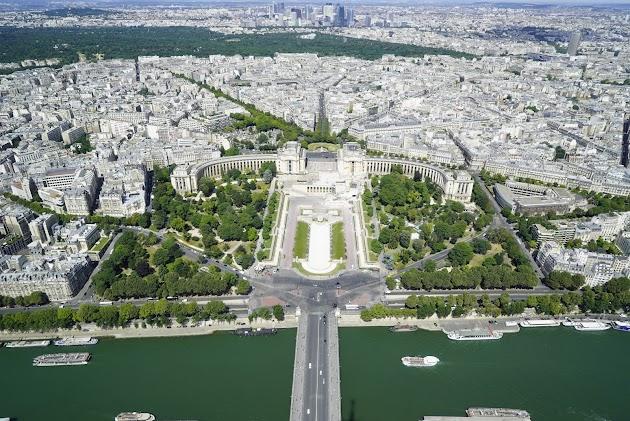 Wochenend- oder Wochenausflug nach Paris