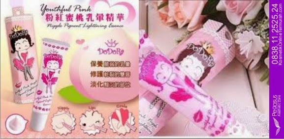 Cream Pemerah Bibir, Dodora Lips, Dodora Lips & Niple, 0819.4633.0746 (XL)