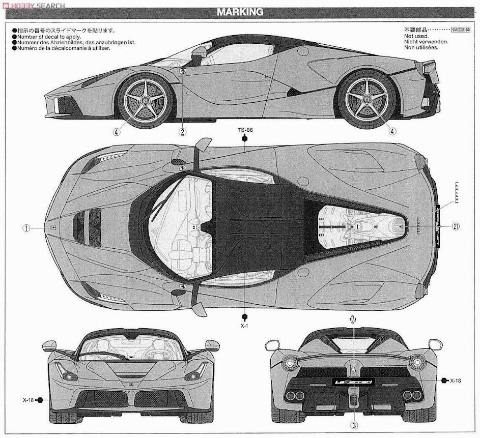 Ferrari LaFerrari (2013) | SMCars.Net - Car Blueprints Forum