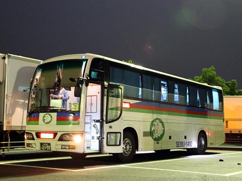 西武観光バス「Lions Express」 1410 下松SAにて