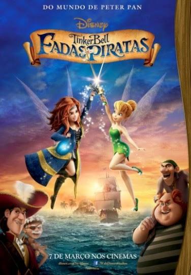 Filme Poster Tinker Bell: Fadas e Piratas TS XviD & RMVB Dublado