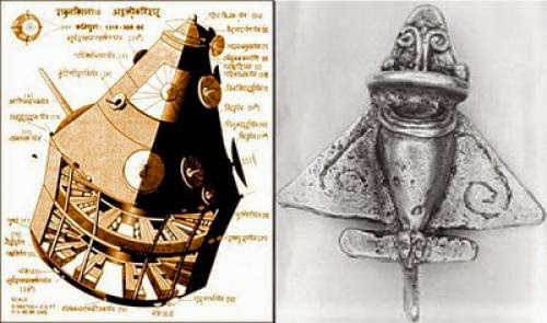 Ancient Astronauts India Vimana Craft Powered By Quicksilver
