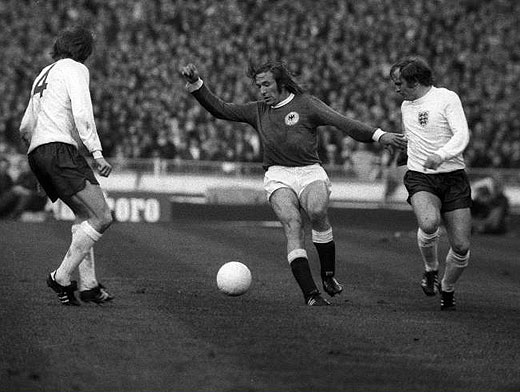 1972: England - West Germany 1-3