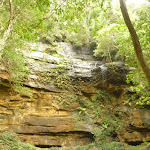 Section of Gap Creek Falls in the Watagans (323849)