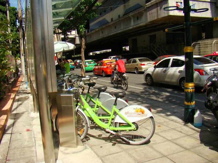 Estación de bici pública Pun Pun