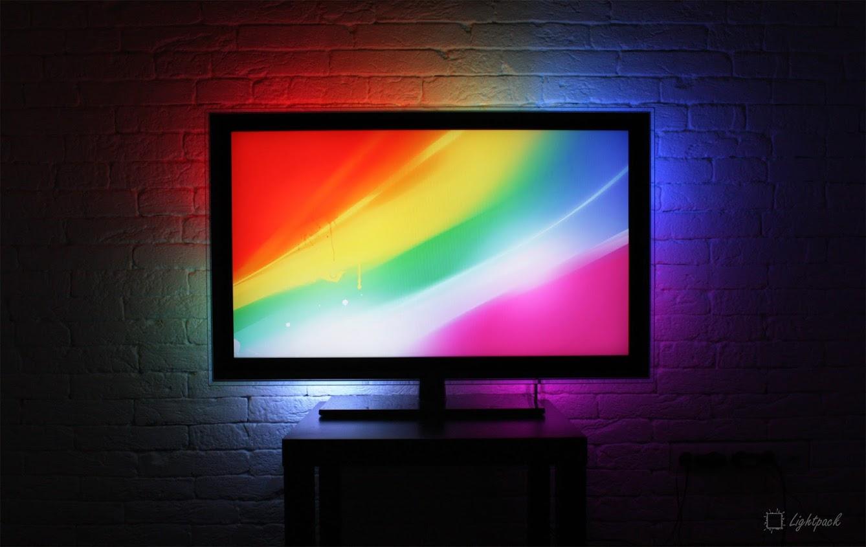 lightpack ambient backlight for your displays by. Black Bedroom Furniture Sets. Home Design Ideas