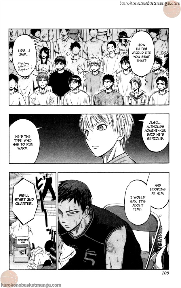 Kuroko no Basket Manga Chapter 66 - Image 2