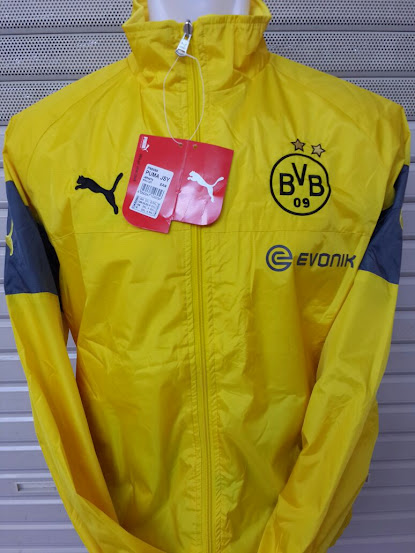 Jual Jaket Parasut Dortmund Kuning 2014-2015
