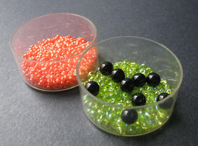 Frog Spawn Bead Color Palette