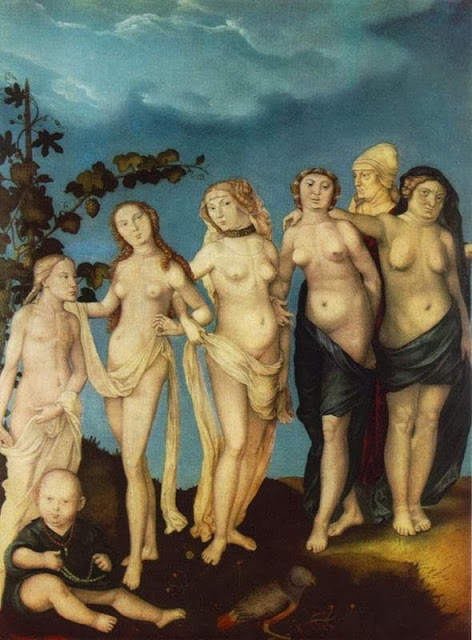 Hans Baldung - The Seven Ages of Woman