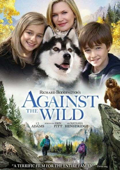 Poster Of English Movie Against the Wild (2013) Free Download Full New Hollywood Movie Watch Online At alldownloads4u.com