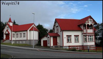 Un tour  d'Islande, au pays du feu... et des eaux. 26-Akureyri