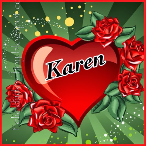 Tarjetas De Feliz Cumpleanos Karen