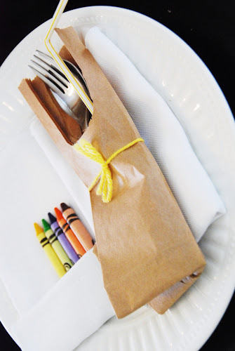 brown paper bag craft