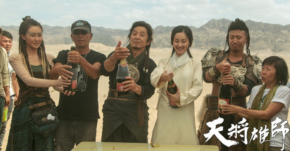 SuperChan's Jackie Chan Blog: Wrap Photos Of Dragon Blade Adrien Brody