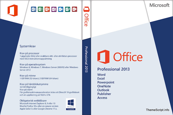 microsoft office 2013 professional plus(64-bit) and activator