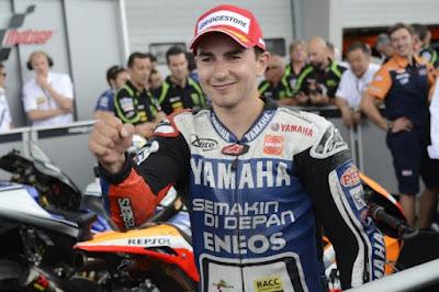 Jorge Lorenzo Sachsenring 2012