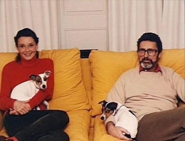 Audrey Hepburn i Robert Wolders