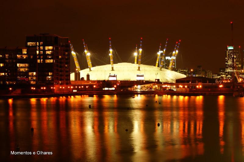 O2 à noite, Londres