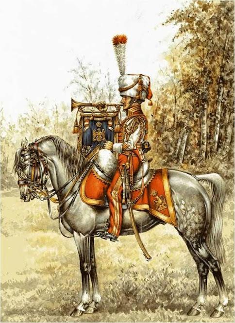 Trumpeter 1st Westphalian Cuirassiers Regiment 1813 MiniArt 1/16 TrompetteLancierredlancertrumppc-1