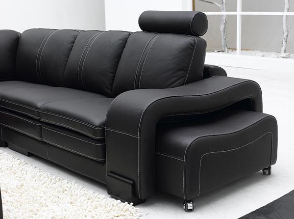 Divani angolari divano angolare moderno pelle sofa soggiorno salotto cassandra - Divano angolare piccole dimensioni ...