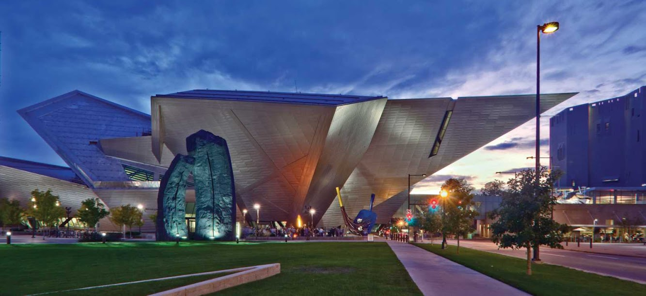 Denver, Colorado, Stati Uniti d'America: Extension Art Museum by Daniel Libeskind
